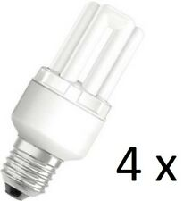 4 x Osram Dulux Star Superstar 8W/825 220-240V E27 Stick Lamp Light Bulb