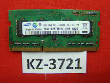 Notebook Ram: 1gb Samsung m471b2873fhs-ch9 pc3-10600s #kz-3721