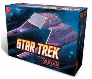 STAR TREK VULCAN SHUTTLE - SURAK -  1/187 Scale PLASTIC MODEL KIT - AMT641