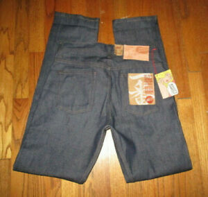 Massdrop NAKED & FAMOUS Weird Guy Ichiban Selvedge Button-Fly Jeans Sz 32x35 NWT