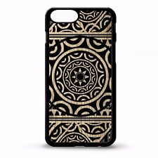 Polynesian tribal aztec black & white samoan print pattern cool phone case cover