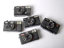 Minolta Hi-Matic, Konica C35, Revue/Fuji/Samo cameras *5 CAMS* *READ & LOOK*