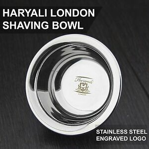 High Grade Shaving Soap Bowl German Stainless Steel Polished (NEWLY DESIGNED )