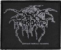 Official Licensed Merch Woven Sew-on PATCH Heavy Metal DARKTHRONE Lurex Logo