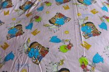 Vintage Disney Cinderella Flat Sheet / disnet drap cendrillon