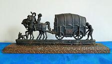 Pferdekutsche_Postkutsche_Kaufmannszug_Metall Kutsche mit Pferde