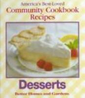 Desserts (America's Best-Loved Community Cookbook Recipes)