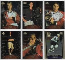 BARRET JACKMAN 1998-99 UD TEAM CANADA PROGRAM OF EXCELLENCE ROOKIE #394