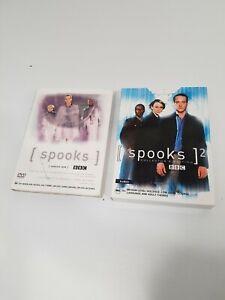 Spooks : Series 1 and Series 2 DVD 2003-2005 BBC