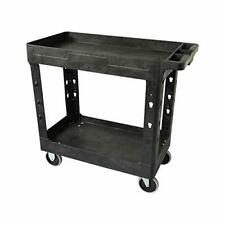 Pake Handling Tools - Plastic Utility Cart - Versatile and Heavy Duty Rolling...