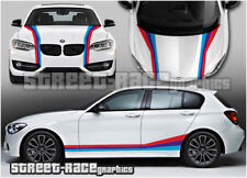 BMW racing stripes full-003 graphics stickers decals M power 1 2 3 4 5 series