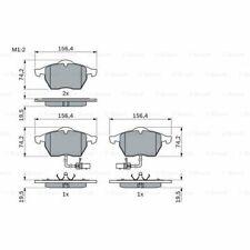 BOSCH Bremsbelagsatz Scheibenbremse VW Passat Audi A4 A6 1.6 1.8 1.9 2.4 TDI T