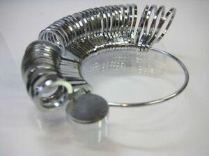 Ringmaß Ringrößen 41 - 76 Maßringen Top Metall