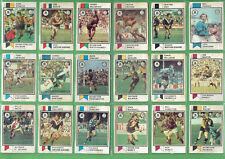 #T76. SCARCE SET(115) 1974   SCANLENS RUGBY LEAGUE CARDS - SECONDS, DAMAGE