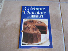 Celebrate Chocolate with Hersheys Booklet – 96 recipes – paperback