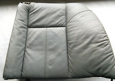 BMW E38 sitz leder grau hinten links, left part rear leather seats gray