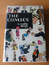 The Comics by Coulton Waugh (MacMillan, 1947). Rare 1st edition.