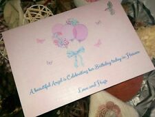 BIRTHDAY CARD FOR ANGEL IN HEAVEN - LOSS OF CHILD - BIRTHDAY REMEMBRANCE