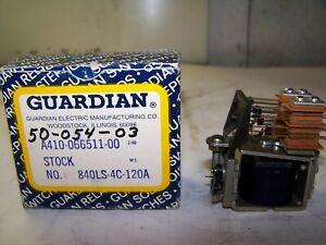 NEW GUARDIAN 2110 U DPSTNO-120 POWER RELAY 120 VOLT 60 Hz 25 AMPS