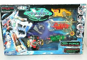 NIP - VOLTRON Mighty Lion Force, Trendmasters 1998 no. 31292 The Third Dimension