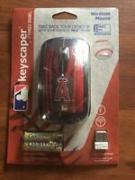 LOS ANGELES ANGELS KEYSCAPER WIRELESS MOUSE - BRAND NEW