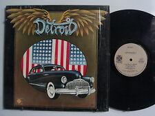 DETROIT With Mitch Ryder ROCK LP SHRINK PARAMOUNT Original NM