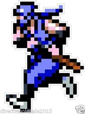 "Nintendo NES 8-bit Ninja Gaiden 4"" Vinyl Decal Sticker Emblem"