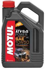MOTUL ATV SXS POWER 10w50 4t ACEITE DE MOTOR ARCTIC CAT THUNDERCAT Prowler DVX