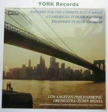 SPA 525 - COPLAND - Fanfare For The Common Man MEHTA LAPO - Ex Con LP Record