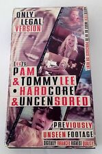 Pam & Tommy Lee UnCENSORED VHS Only Legal Version FREE US SHIPPING!