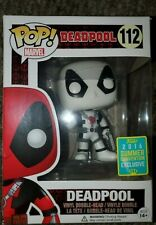 Funko - Thumbs Up White Deadpool SDCC 2016 Exclusive Sticker Pop #112