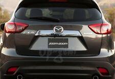 For Mazda CX5 4DR Mirror Chrome ABS Plastic Rear Trunk Streamer Cover Trim