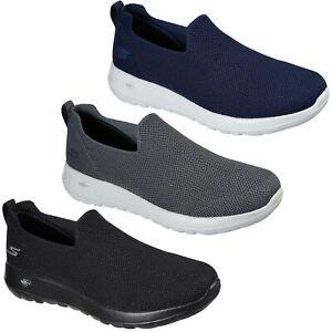 Skechers Mens GoWalk Trainers Max Slip On Lightweight Walking Shoes Sneakers
