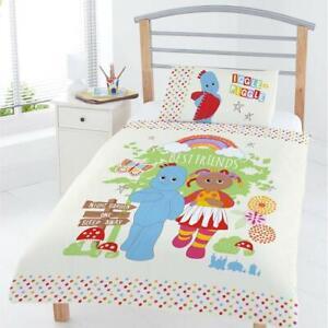 In The Night Garden Best Friends Junior Cot Toddler Duvet Cover Reversible Bed