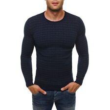 Herren-Pullover & -Strickware aus Baumwolle mit Karo -/Rauten in Plusgröße
