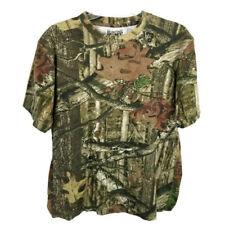 Hunting Zone T shirt mossy oak breakup infinity short sleeve camo womens size L