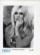 Brigitte Bardot sexy Two Weeks in September VINTAGE Photo