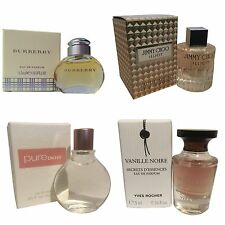 Ladies Womens Miniature Mini Perfume Gift Travel x4 Jimmy Choo Burberry DKNY