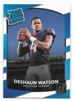 Deshaun Watson Rated Rookie 2017 Donruss #345 Clemson Tigers Houston Texans RC
