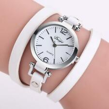 Fashion Womens Ladies Watches Leather Wrap Bracelet Analog Quartz Wrist Watch