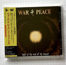 WAR & PEACE-Light At The End Of The Tunnel JAPAN CD OBI PCCY--01504 JEFF PILSON