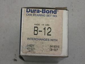 BUICK 3.0 3.8 4.1 V-6 1975-1985 DURA-BOND # B-12 ENGINE CAMSHAFT BEARING SET