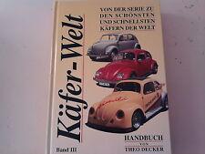 VW Käfer Welt Band 3  KDF Wagen VW 30 Kübelwagen Typ 82 Wehrmacht Typ 166 Typ 60