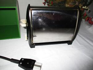 Schott Toaster Klapptoaster 50er Jahre Chrom 700 W PlNr. 275 Flachstecker top