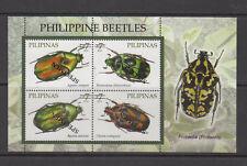 Philippine Specimen 2010 Philippine Beetles Souvenir Sheet MNH