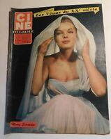 Ciné Télé-Revue n° 40 - 1960.  ROMY SCHNEIDER - KIRK DOUGLAS