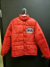 Very Rare 1979 Hesston National Finals Rodeo Red Puffer Coat Size Men's Medium