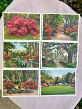 Postcards Lot of (12) Bellingrath Gardens  Mobile Alabama Made in Switzerland