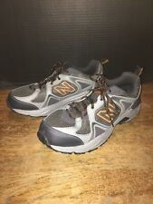 New Balance 481 v3 Men's Size 13 Trail Hiking Running Shoes Gray Orange