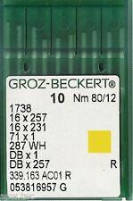 GROZ BECKERT industriel machine à coudre aiguilles 16x231 dbx1 taille 12